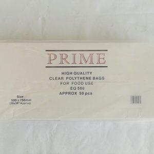 CLEAR POLYTHENE BAG 500g