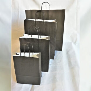 BLACK CARRIER BAG