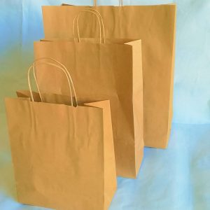 BROWN PURE KRAFT TWIST BAG