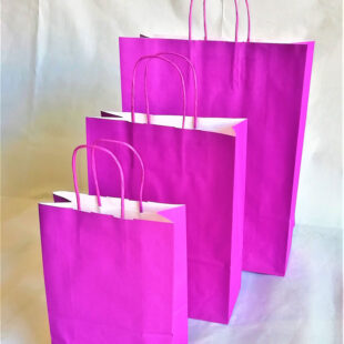 PURPLE CARRIER BAG