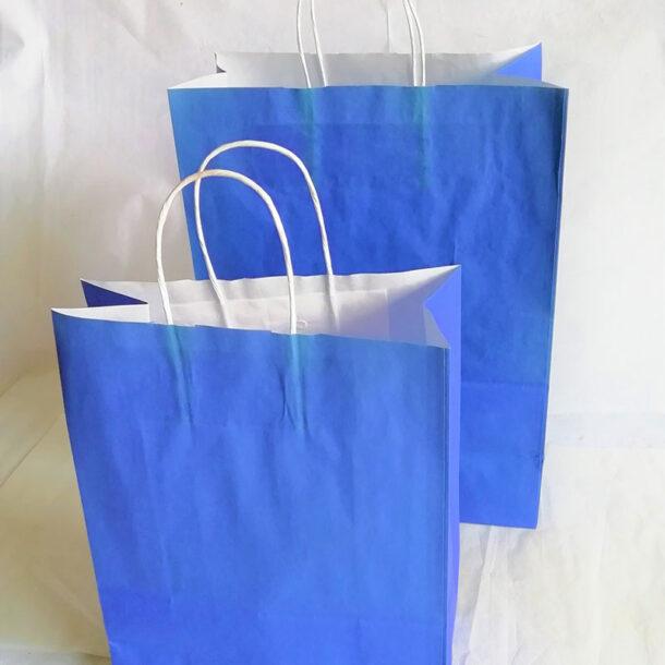 BLUE CARRIER BAG