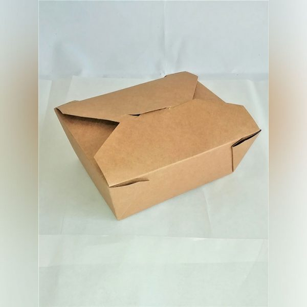 LEAKPROOF KRAFT CONTAINER