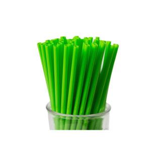 GREEN STRAIGHT STRAW
