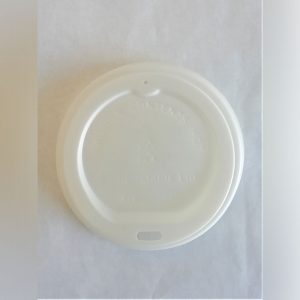 LID FOR COMPOSTABLE COFFEE CUP