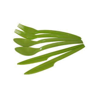 GREEN BIO-DEGRADABLE CUTLERY