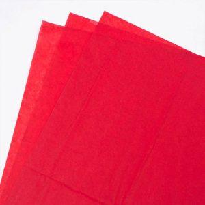 RED ACID FREE TISSUE 500 x 750mm