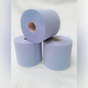 2 PLY LOGIC BLUE CENTREFEED ROLL