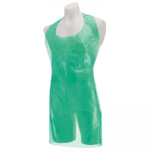 DISPOSABLE GREEN APRONS