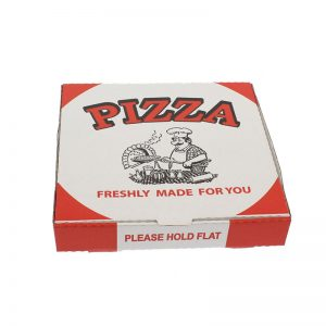 "12"" WHITE PIZZA BOX"