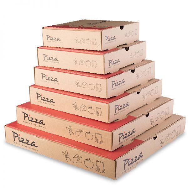 """16"""" BROWN PIZZA BOX"""
