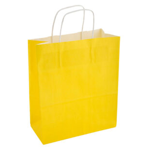 YELLOW CARRIER BAG