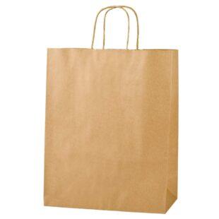 BROWN PAPER CARRIER BAG