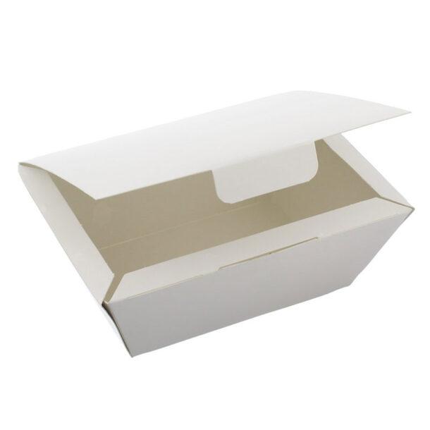 WHITE FOOD BOX